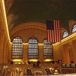 Grand Central Station, view from our dinner