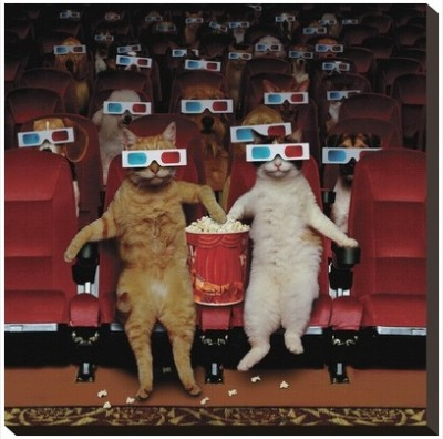 3-D movie by John Lund at Art.com