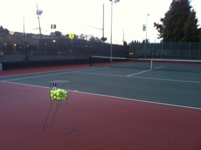 dying to live your dream-tennis court- love means nothing to a tennis player