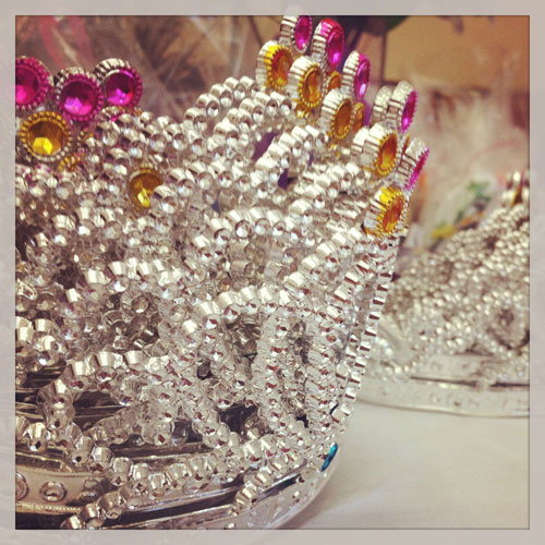 Motivating Girls: Princess Day Project Crowns