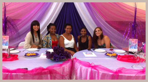 Motivating Girls:Motivating Girls: The Princess Day Project Myself, Sima, Cherish, Ayanda, Stephanie B