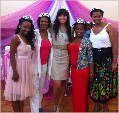 Motivating Girls: The Princess Day Project Team