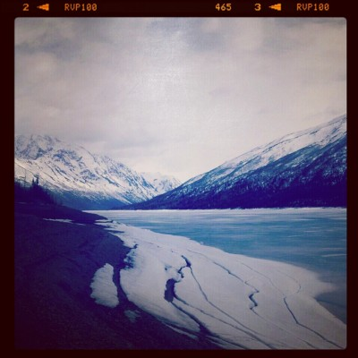 Travel to Alaska: Eklutna Lake