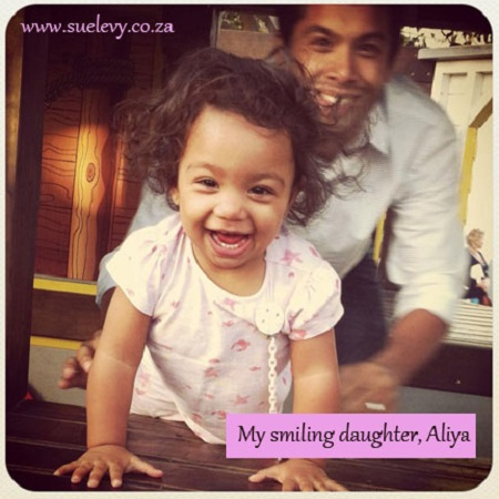 Thankful Thursday: Learning Gratitude from a Toddler - Aliya and her smile