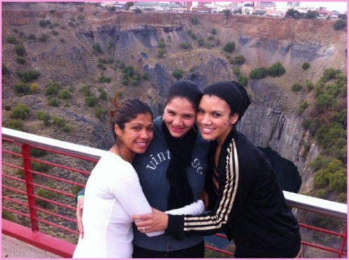 Images From South Africa: Ally, Nastassja and I--Sisters for Life