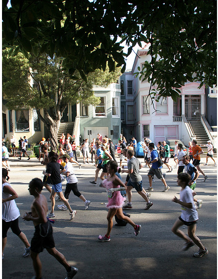 Spring Training for Your Dream: Running the Bay to Breakers