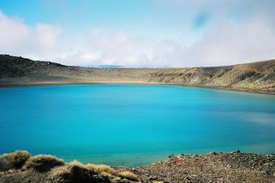 Blue Lake - Tongariro Crossing, New Zealand
