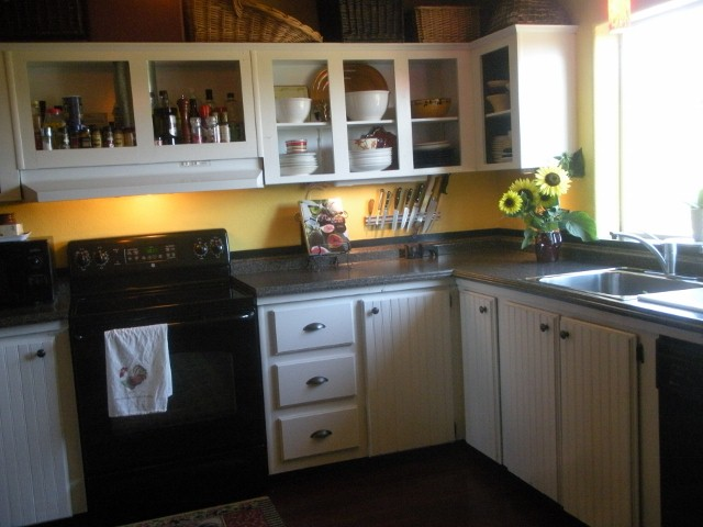 Painting My Dream Kitchen Happy is How I Shoo Away the SAD