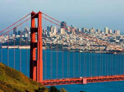 Finding Happiness in San Francisco - The Golden gate Bridge