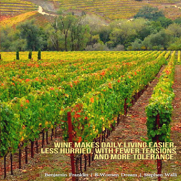 Travel to the Heart of the California Wine Country