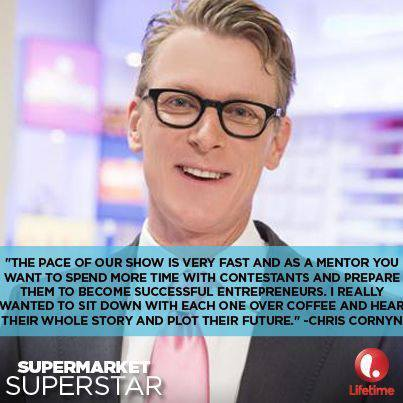 Chris Cornyn quote from Supermarket Superstar: Follow them on Facebook!