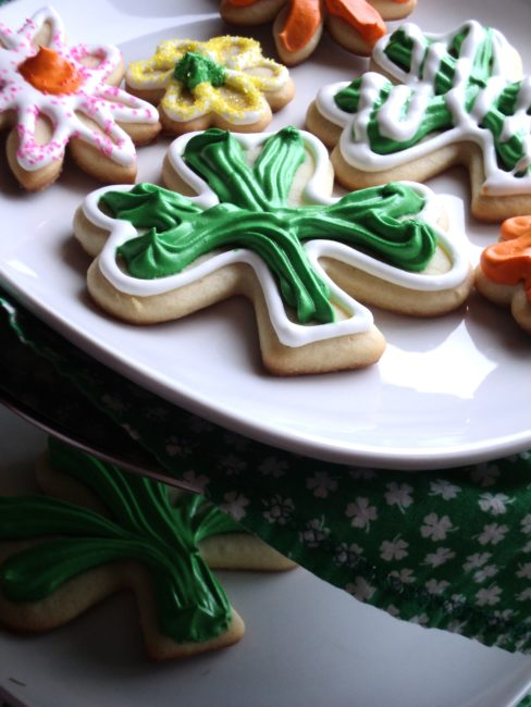 Saint Patrick's Day Giving: Cookies for the firefighters
