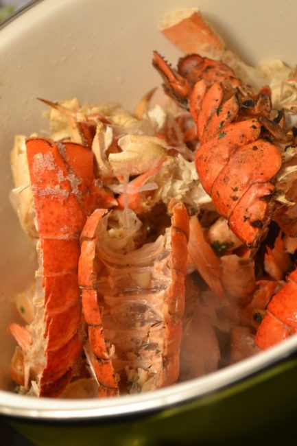Fresh Crab and a Stock Pot Create New Resolutions