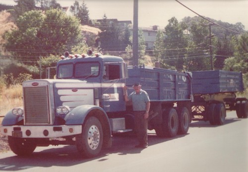 Father's Day Celebrations: Dad with his truck