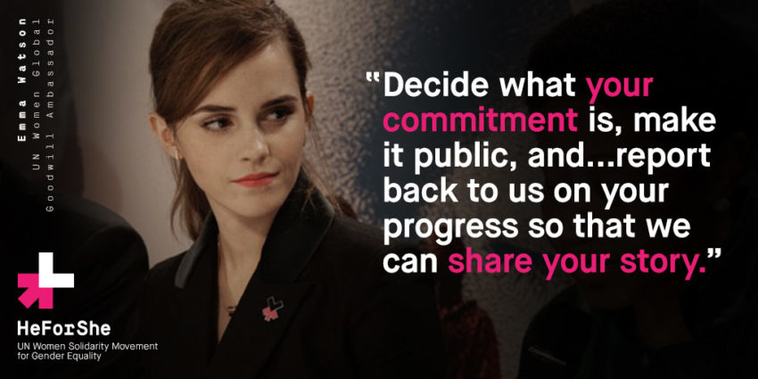 HeForShe Makes me Grateful for Women's Empowerment: Emma Watson Quote