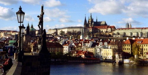 Prague from the Charles Bridge (pic: Natasha von Geldern)