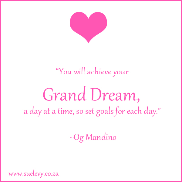 Top 8 Aha Moments: Grand Dream Quote by Sue Levy
