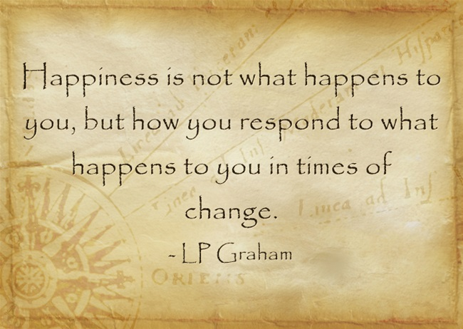 Finding Happiness During Times Of Major Change