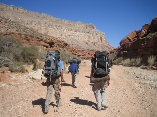 Havasupai Falls: A Grand Canyon Travel Dream: The flat hike in