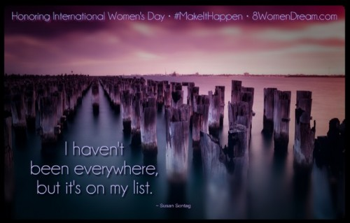 8 Women Memorials to Visit on International Women's Day: Quote from women about traveling