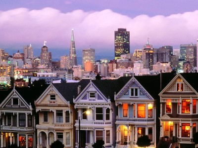 Finding Happiness in San Francisco - San Fancisco Sunset