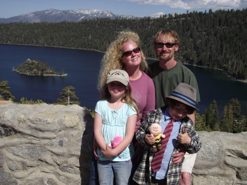 Bravely Living my Dreams on a Lake Tahoe Scenic Drive with my family