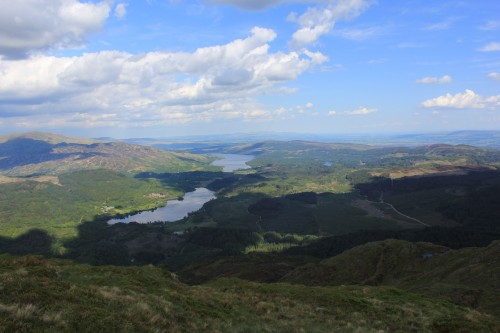 Loch Katrine from Ben Venue, The Trossachs, Scotland