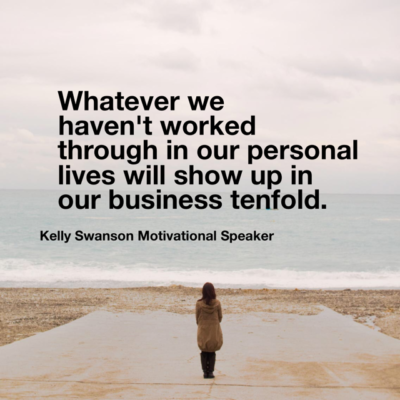 Business quote by Kelly Swanson