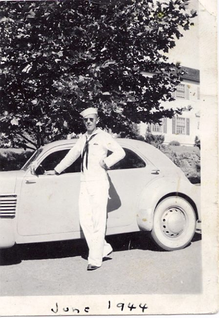 My dad in 1944