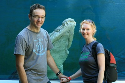 Why We Dream of Traveling the World: Me and my husband, Michael in Darwin