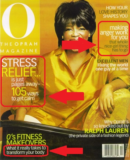 How Motivational Speakers Can Market Big On A Small Budget: Oprah magazine as an example