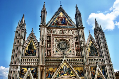 Travel Dreams for 2015: Orvieto Cathedral, Umbria Italy