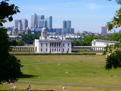 Making the Most of London Travel: Canary Wharf and East London from Greenwich Park
