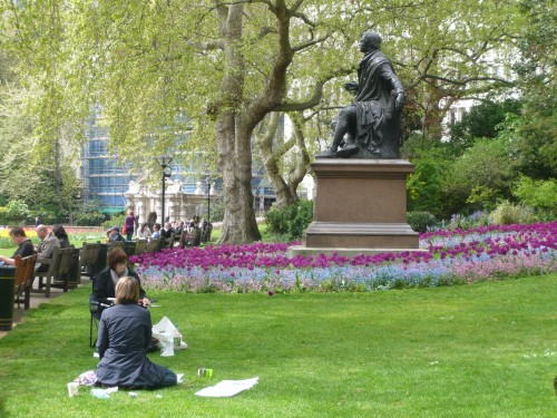 London's Embankment Gardens