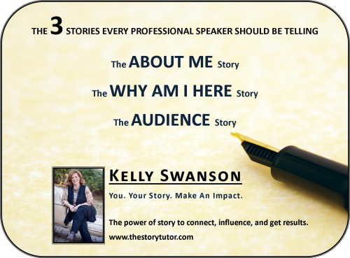 Three Stories Every Professional Speaker Should Be Telling