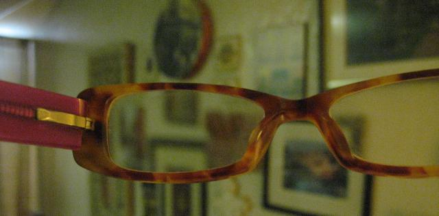 a look at blogging through rose colored glasses