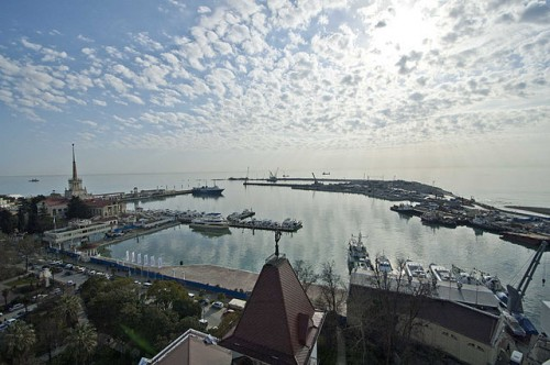 Who Else Wants to Travel to Russia? Maritime Port in Sochi by Ганощенко Роман