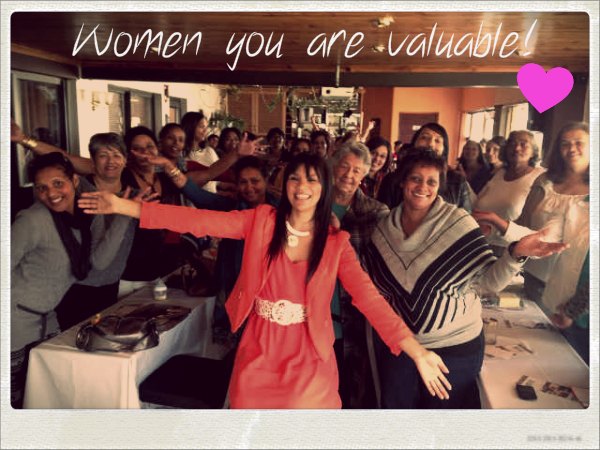 Sue Levy, Motivational Speaker from Cape Town shares her dream on 8 women dream
