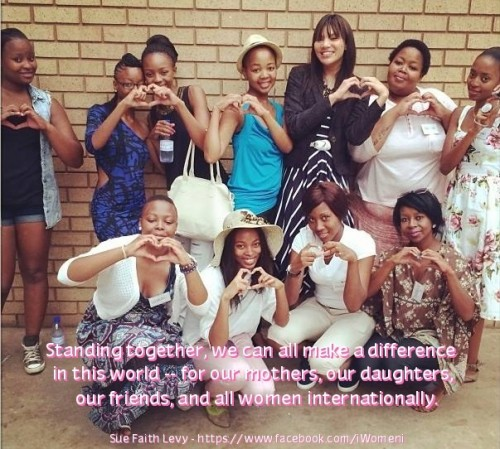 South Africa Women's Day 2014: Empowering Women to Dream Big - Me at a workshop in atteridge pretoria