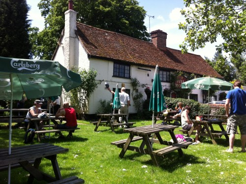 The Full Moon pub, Hertfordshire