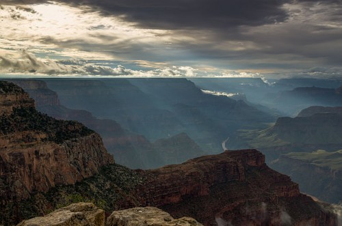Now You Can Get Travel Bucket List Ideas from World Heritage Sites: Hopi Point Grand Canyon
