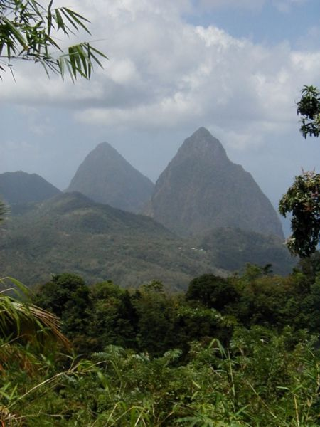 Travel Saturday: The Pitons are two volcanic plugs in Saint Lucia