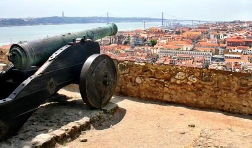 View from St George's Castle, Lisbon, Portugal
