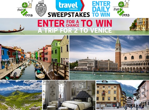 Dream Italy Travel?  Win a Trip for 2 to Venice
