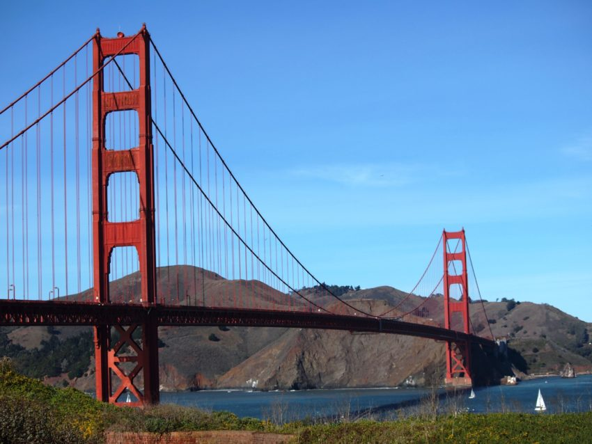 Wordless Wednesday: Golden Gate Bridge San Francisco Adventures