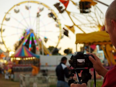 Photography Dreamer Shoots County Fair at Twilight