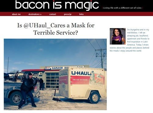 American Blogger Film Ignites Blogging Shitstorm: Bacon is Magic blog