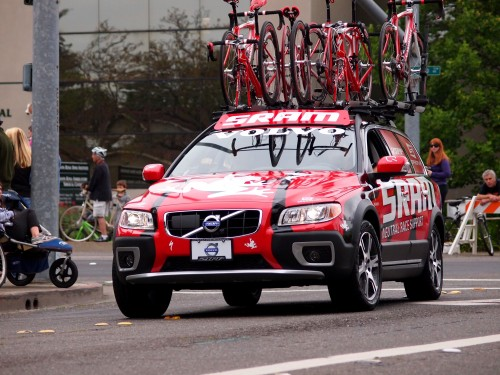 Dream Images of the 2012 Amgen Tour: Amgen Tour Team Car