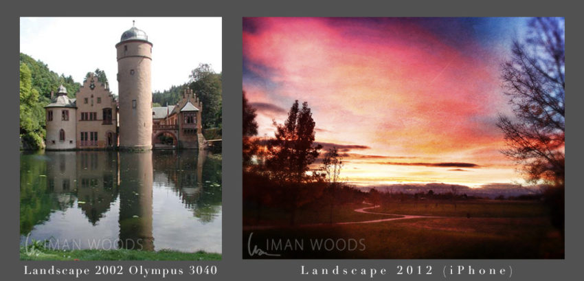 How Failure is a Perfect Part of Dream Success: Iman Woods landscape photography before and after