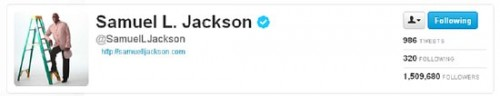 Blog Success: It's easy if you are famous like Samuel L Jackson